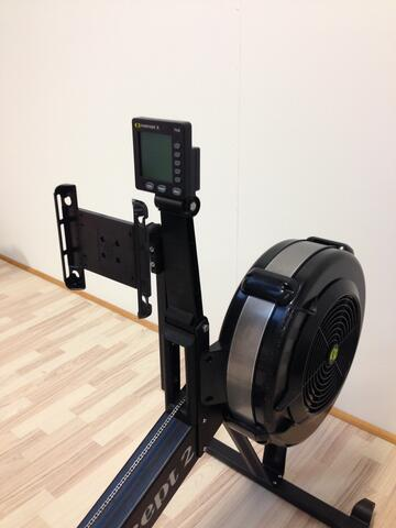 Concept 2 RowErg romaskine tablet holder